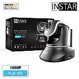 INSTAR IN-8015 Full HD schwarz - WLAN Überwachungskamera - IP Kamera - IP Cam - Innenkamera - Pan Tilt - Alarm - PIR - Bewegungserkennung - Nachtsicht - Weitwinkel - LAN - WiFi - RTSP - ONVIF