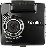 Rollei CarDVR-318 - Hochauflösende Dashcam/ GPS Autokamera (KFZ-Kamera, DVR Kamera) mit 2k Videoaufzeichnung und Full HD, inkl. Bewegungssensor, Parküberwachung und GPS-Funktion – Schwarz