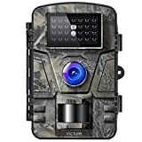 Victure Wildkamera mit Bewegungsmelder Nachtsicht 16MP 1080P Full HD Wildtierkamera mit Infrarot No Glow LEDs und IP66 Wasserdicht Beutekameras für Tierbeobachtung Haussicherheitsüberwachung