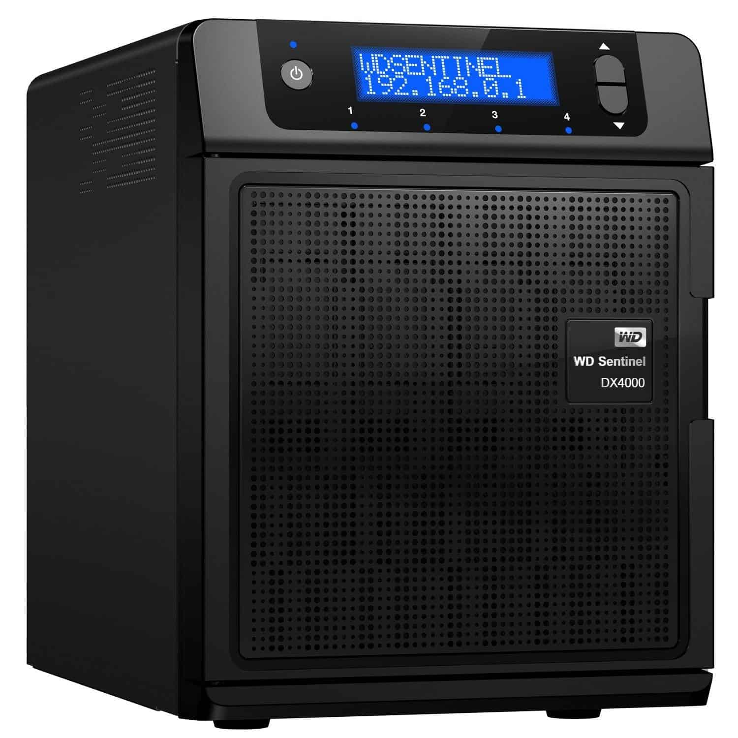 WD Sentinel DX4000 Test