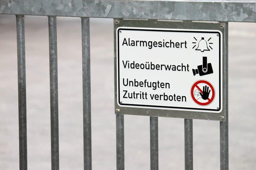 Betriebsgeländesicherung Übersichtsbild - Sei-Sicherer.de