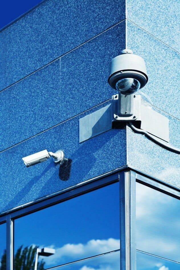 Betriebsgelände Überwachungskamera