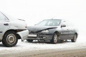 Auto zusammenstoß