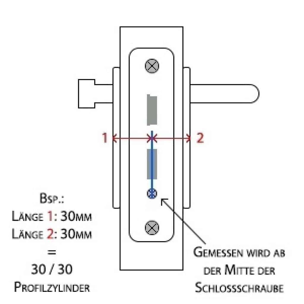 Profilzylinder Test - Schließzylinder individuelle Ausmessung