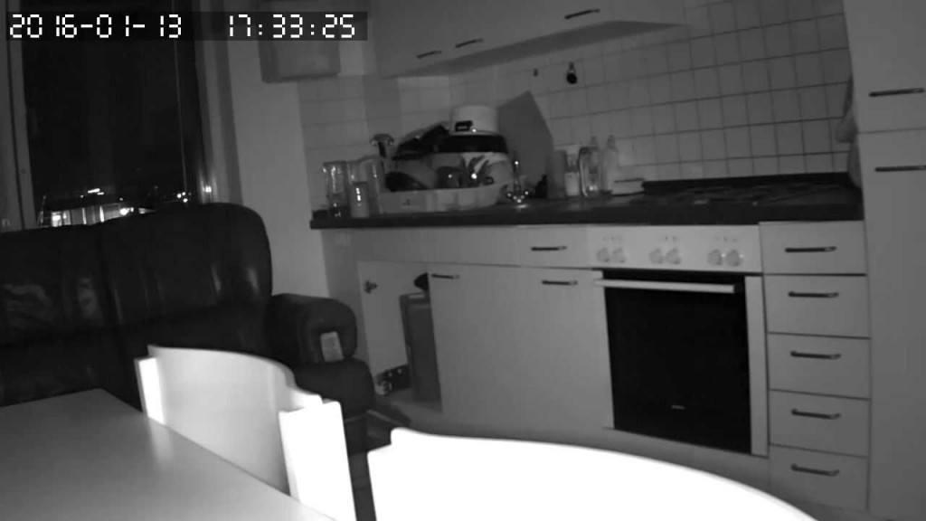 HiKam S5-mini Vergleich - Nachtaufnahme