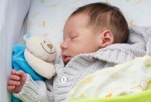 Babyphone Vergleich - schlafendes Kind
