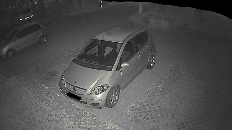 Instar IN-5905HD - Nachtaufnahme - WLAN Kamera Test