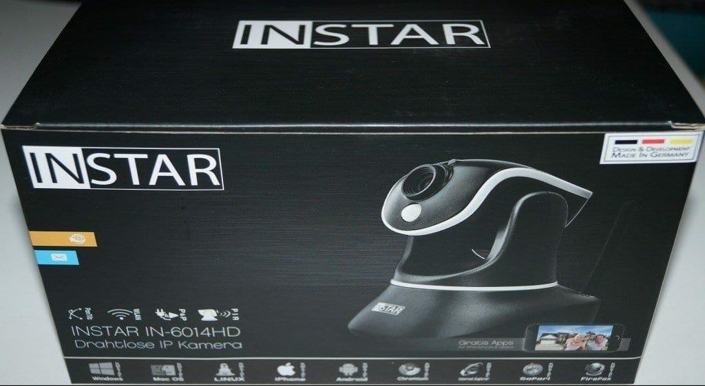 Überwachungskamera Test Instar IN-6014HD