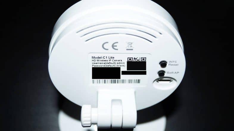 Foscam C1 Lite Kaufen - Rueckseite
