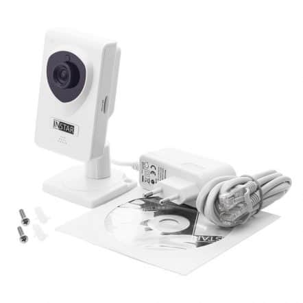 Ueberwachungskamera Test Instar IN-6001HD - Lieferumfang-Fin