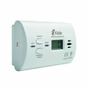 KIDDE CO-Alarm X10-D Test - Co Melder Test