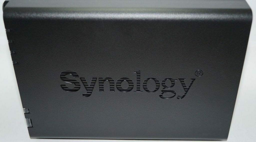 Synology DS216+II Logo Aufdruck