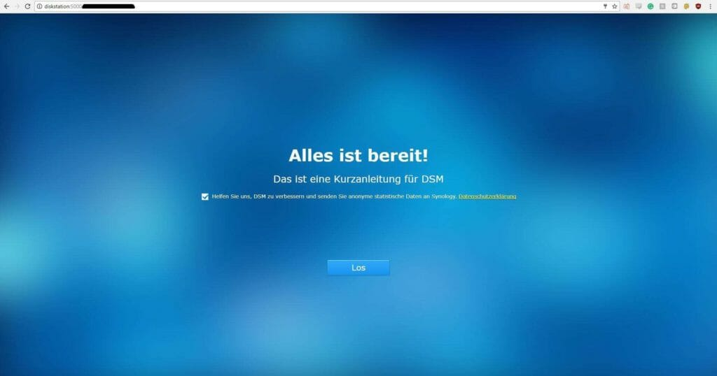 Synology DiskStation DS216+II Installation10