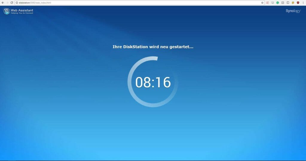 Synology DiskStation DS216+II Installation4