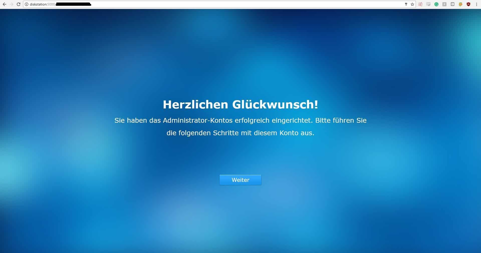 Synology DiskStation DS216+II Installation6