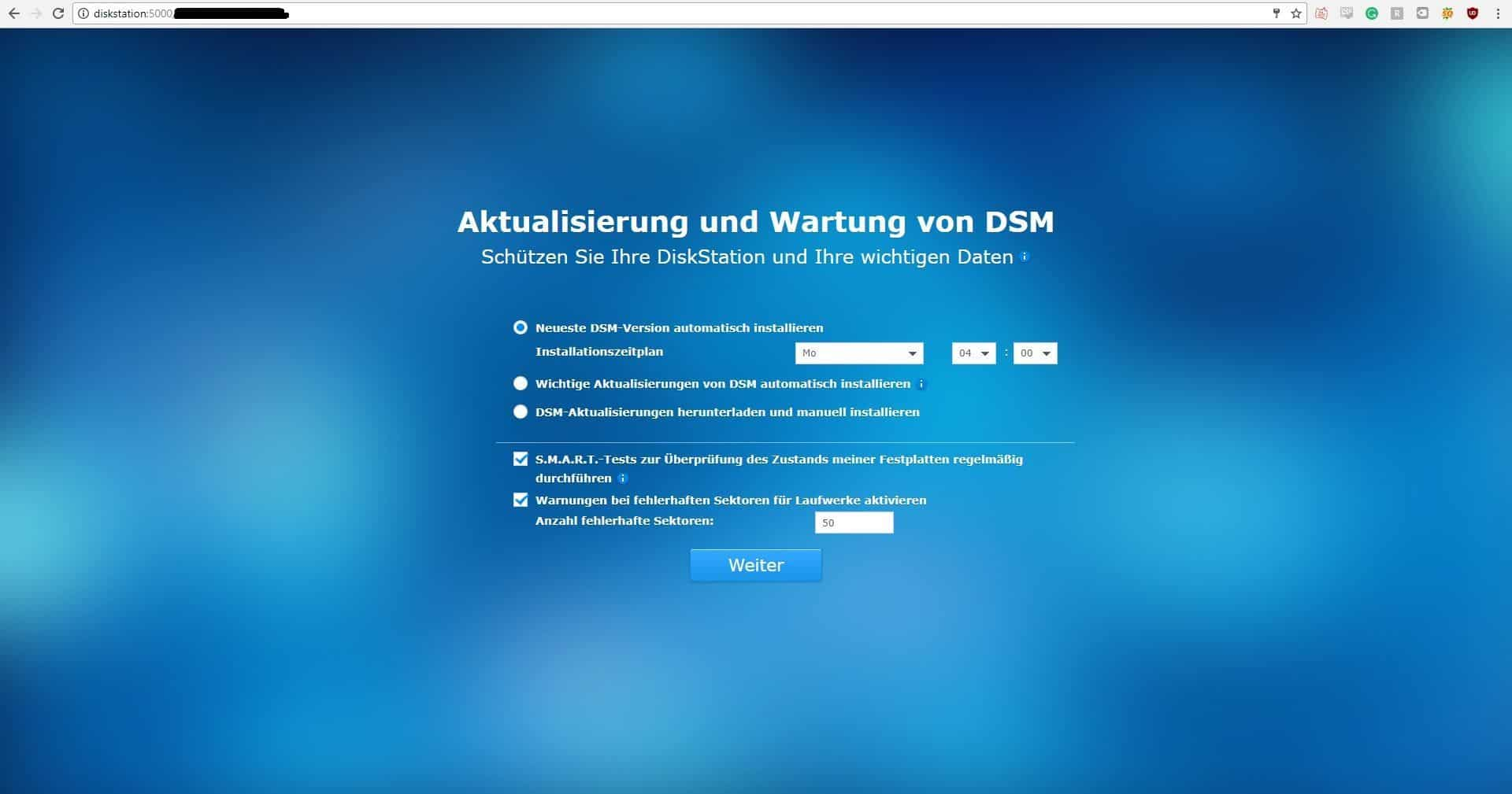 Synology DiskStation DS216+II Installation7