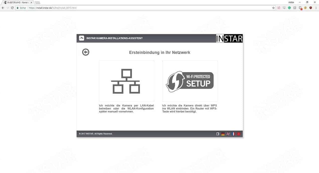 Instar IN-8015 Full HD Installationsschritt 2