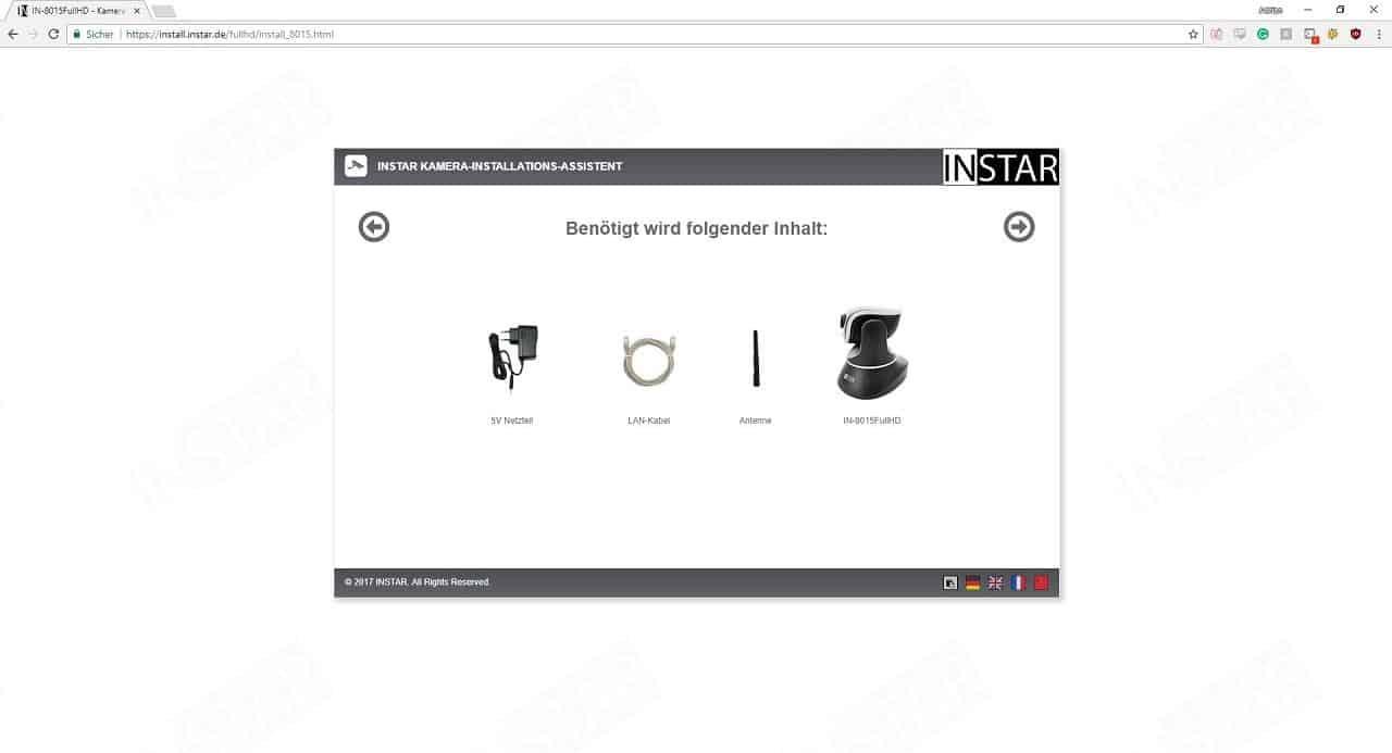 Instar IN-8015 Full HD Installationsschritt 3
