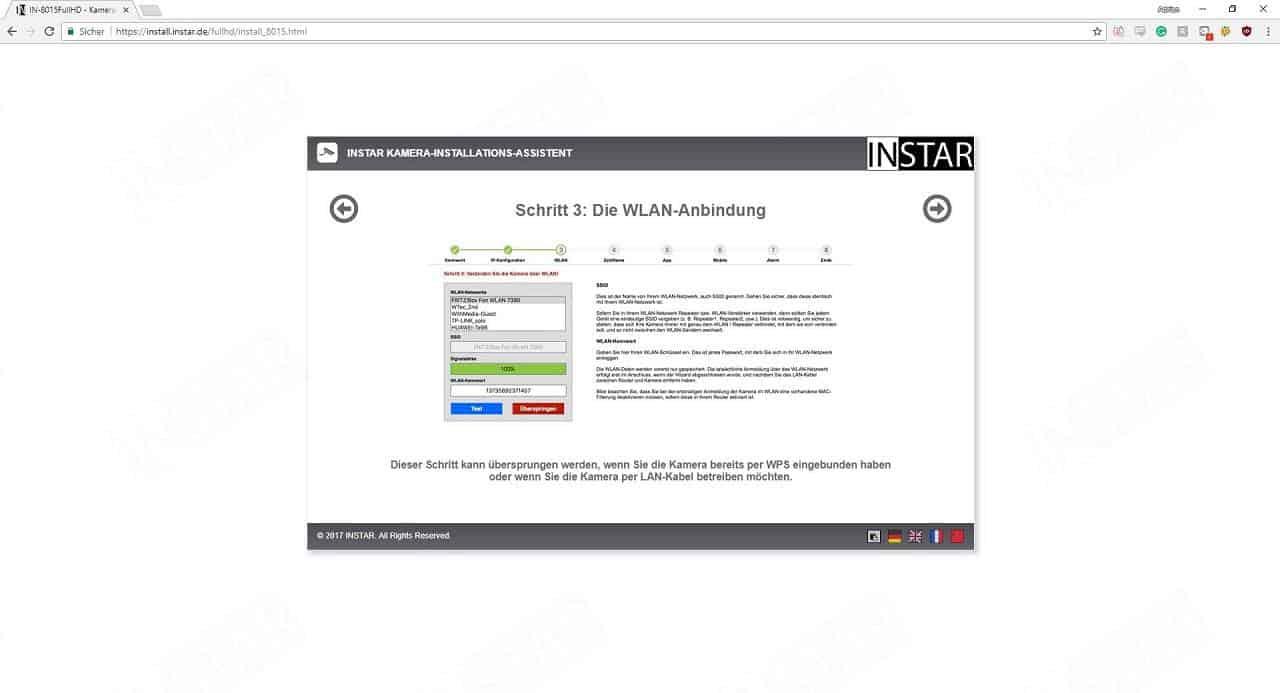 Instar IN-8015 Full HD Installationsschritt 5