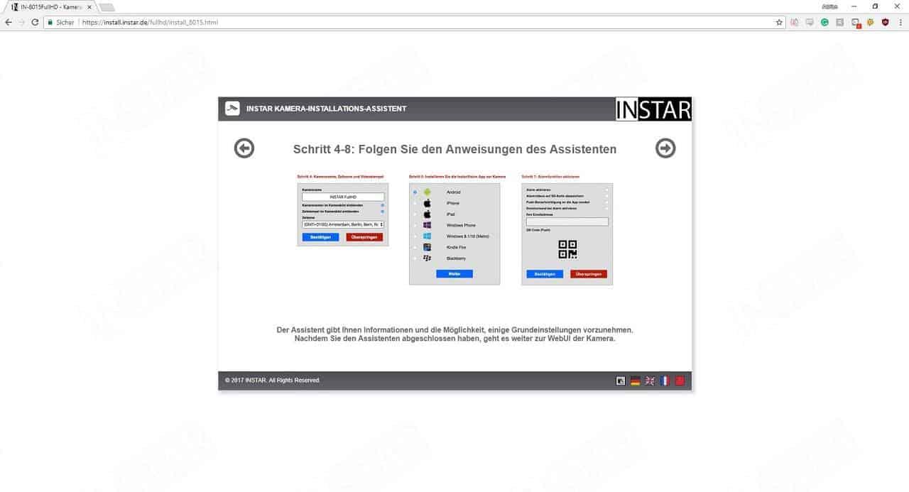 Instar IN-8015 Full HD Installationsschritt 6