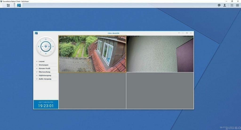 synology surveillance station windows client live ansicht