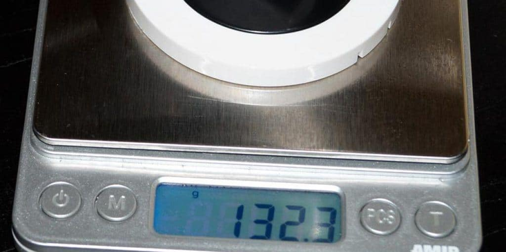 HiKam-S6-Gewichtsmessung