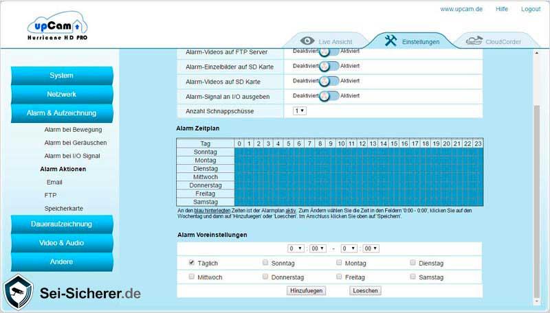 upcam-hurricane-test-ptz-ueberwachungskamera-alarmzeitplan-final2