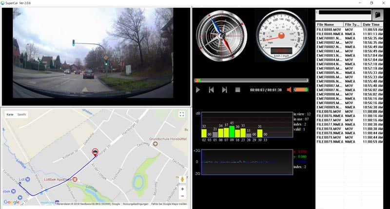 Rollei-CarDVR-318-Supercar-Software-Final