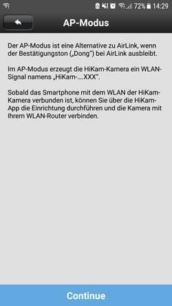 HiKam-A7-Test-AP-Modus