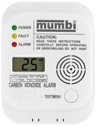 mumbi-CM100-Kohlenmonoxid-Melder-Test