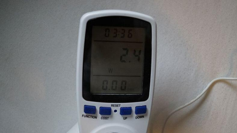 Lupusnet-LE203-Stromverbrauch