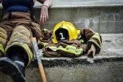 Sicherheitskleidung-Feuerwehr