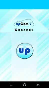 upCam Cyclone HD S+ Testbeitrag App Menü