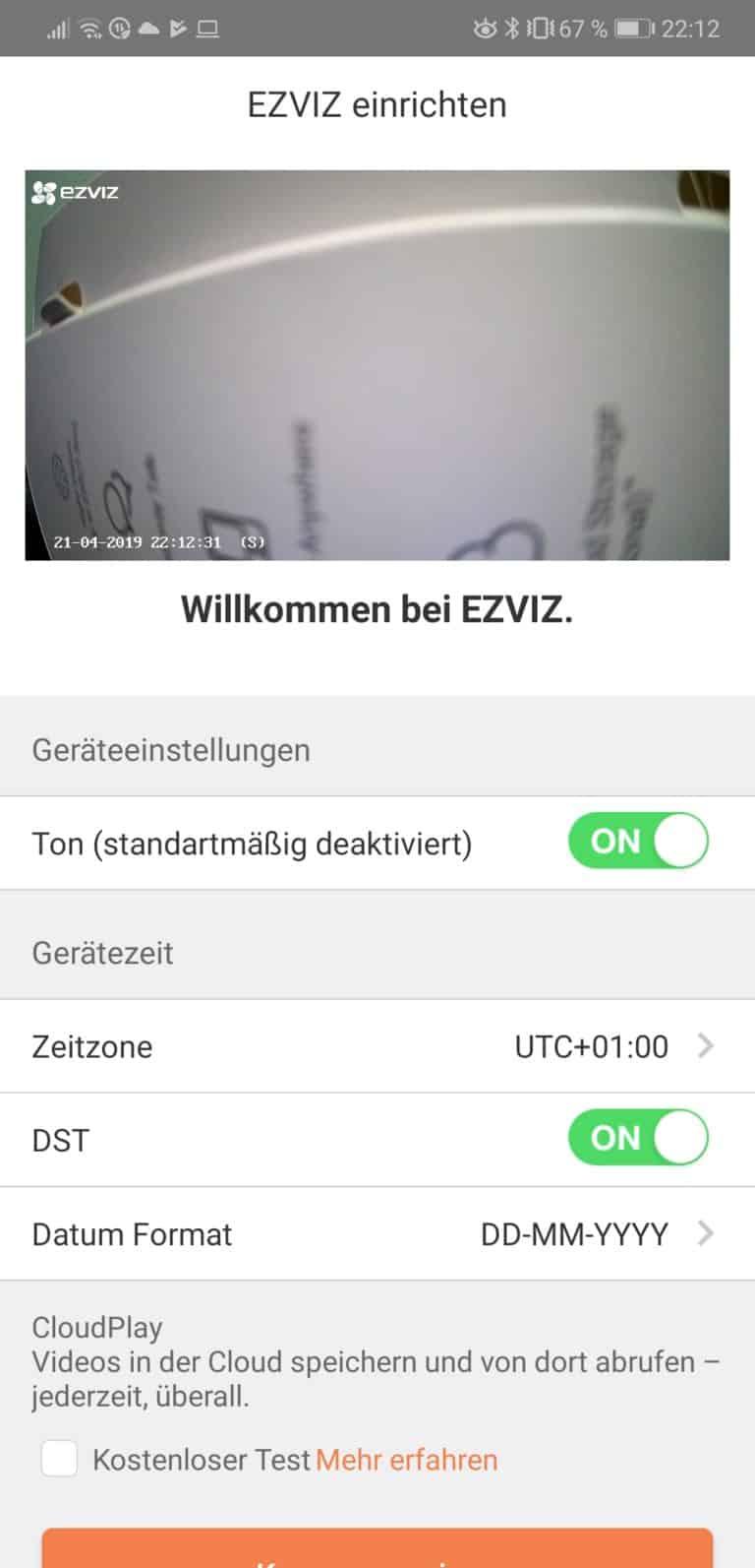 EZVIZ CTQ2C Test - Güntige Überwachung für Innen 4