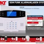 Funk Alarmanlage Multi Kon Trade GSM M2B Test