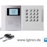 Funk Alarmanlage Test LGtron GSM LGD8003