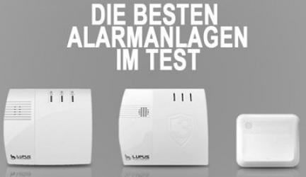 Alarmanlagen Test – die besten Geräte 2018